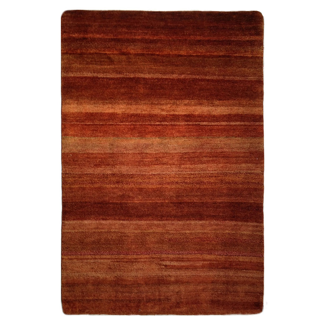 Two Roses Modern Red Orange Wool Rug 7809 Andonian Rugs