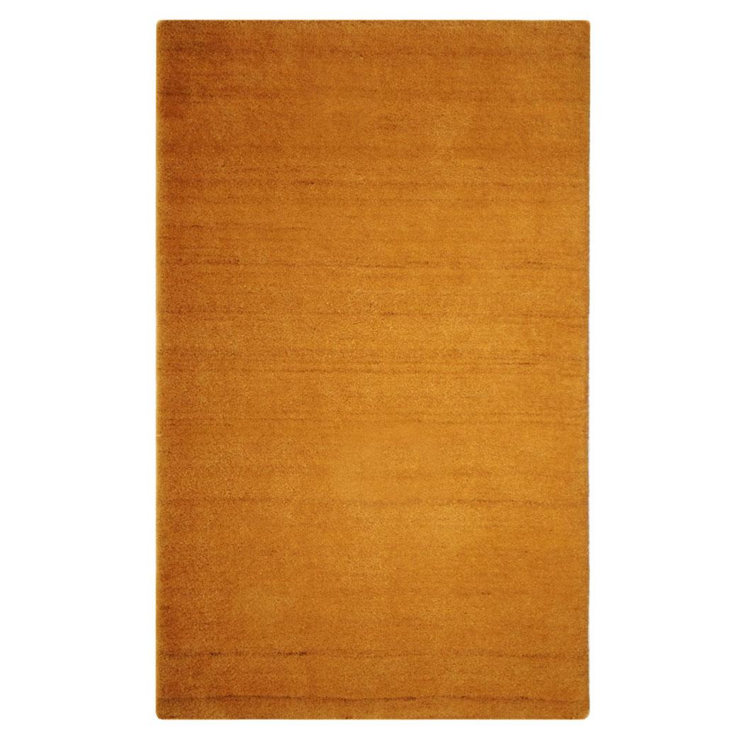 sartori modern orange brown wool rug   andonian rugs  - sartori modern orange brown wool rug