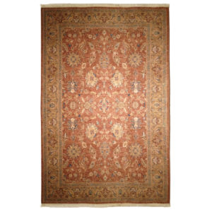 Karastan Traditional Brown Tan Wool Rug 8128